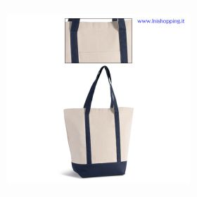 Borsa shopping stile marinaro
