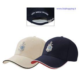Cappellino baseball 6 pannelli Lega Navale Italiana