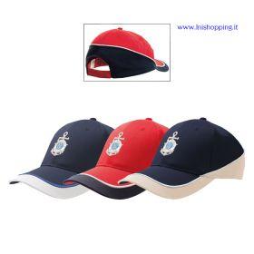 Cappellino baseball 5 pannelli Lega Navale Italiana