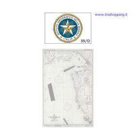 Carta nautica didattica IIM Foglio 39/D