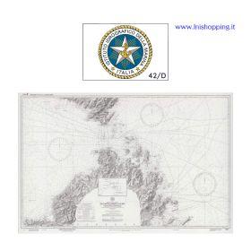 Carta nautica didattica IIM Foglio 42/D