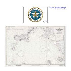 Carta nautica didattica IIM Foglio 5/D