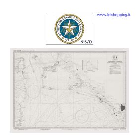 Carta nautica didattica IIM Foglio 913/D INT 3310