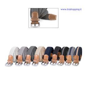 Cintura elasticizzata intrecciata