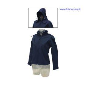 Giubbino Softshell da donna con cappuccio rimovibile