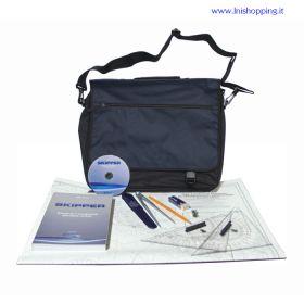Kit da carteggio per conseguimento patente nautica con SKIPPER