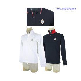 Polo piquet manica lunga LUXURY - Lega Navale Italiana