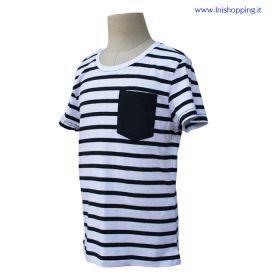 T-Shirt bambino stile marinaio