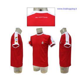 T-shirt a mezza manica con banda Lega Navale Italiana